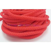 Cuerda escalada 5 mm grosor. Color rojo (1 m)