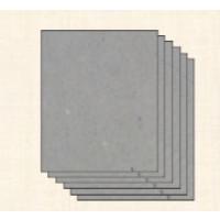 Carton contracolado GRIS encuadernar- Grosor 1 mm- A4