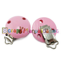 Pinza chupetero mad brillo 50x34 mm Color ROSA CLARO 03