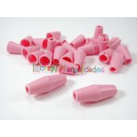 Cierre para collar de lactancia/ mordedor- 22x8.5 mm - Rosa