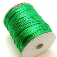 Cola de raton 2 mm color verde hierba ( 1 metro)