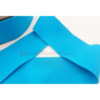 Cordon Lycra 30 mm. Color turquesa 2 (50 cm )