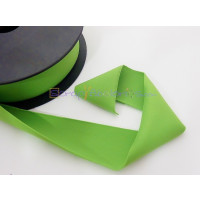 Cordon Lycra 30 mm. Color  verde (50 cm )