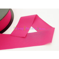 Cordon Lycra 30 mm. Color rojo magenta (50 cm )