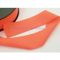 Cordon Lycra 30 mm. Color coral (50 cm )