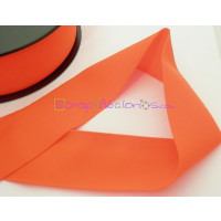 Cordon Lycra 30 mm. Color naranja oscuro (50 cm )