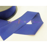 Cordon Lycra 30 mm. Color azul  marino (50 cm )
