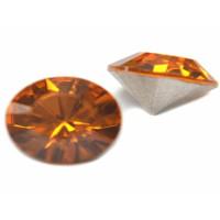 Chaton xilion cristal Swarovsky SS29 Topaz 6 mm