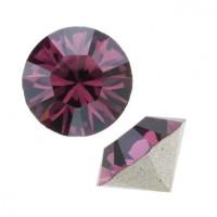 Chaton xilion cristal Swarovsky SS29 AMETHYST  6 mm