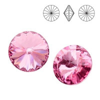 Chaton xilion cristal Swarovsky SS29 Rose F 6 mm
