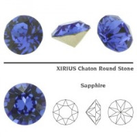 Chaton xilion cristal Swarovsky SS29 Saphire F  6 mm