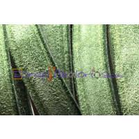 Cuero plano ante 12 mm verde (20 cm)