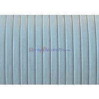 Cuero plano denver gris claro 3 mm alta calidad ( 1 metro)