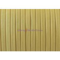Cuero plano denver amarillo 3 mm alta calidad ( 1 metro)