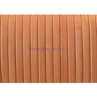 Cuero plano denver naranja 3 mm alta calidad ( 1 metro)