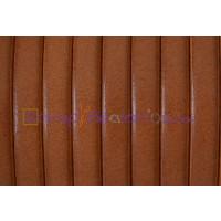 Cuero plano 5 mm marrón claro  ( 20 cm)