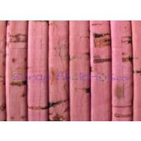 Corcho plano 5 mm rosa grosor 1.5 mm ( 20 cm)