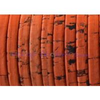 Corcho plano 5 mm naranja grosor 1.5 mm ( 20 cm)