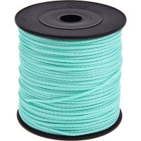 Cordon de Polyester  1.5 mm, color menta ( 1 metro)