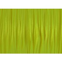 Bobina 90 metros cola raton 1 mm- Color amarillo fluor