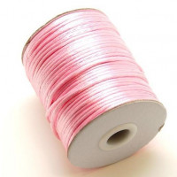 Bobina cola de raton 2 mm, color rosa bebe 020 ( 80  metros)