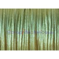 Cordon cola de raton 1 mm, color verde pistacho( 1 metro)