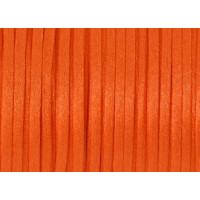 Cordon cola de raton 1 mm, color naranja intenso ( 1 metro)