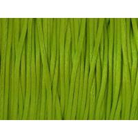 Cordon cola de raton 1 mm, color verde claro ( 1 metro)