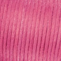 Cordon de saten 1.5 mm, color rosa medio ( 1 metro)