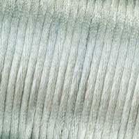Cordon de saten 1 mm, color plata ( 1 metro)