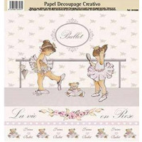 Papel Decoupage creativo Dayka-  Modelo  0813388