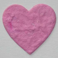 Corazon rosa claro 3cm (3 uds)