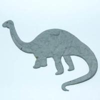 Troquelado papel mulberry Dinosaurio Brontosaurio
