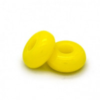 Donut resina  AMARILLO 10 mm. Taladro 4 mm (5 unidades)