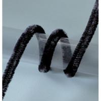 Limpiapipas 50 cm - Grosor 8 mm- Color negro - 10 uds