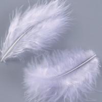 Plumas de marabu EFCO  8-10 cm-  Blanco 22 uds