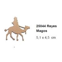Maderitas- Silueta DM 2.5 mm grueso- Rey Gaspar 5.1x4.5 cm