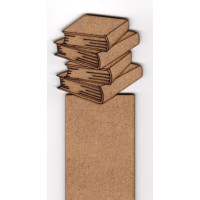 Marcapaginas  punto libro DM 3.5x20 cm- Modelo 12 ( libros)