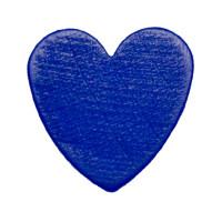 Figurita madera PREMIUM- Corazon picudito 20x18 - Azul marino 21