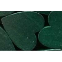 Figurita madera PREMIUM- Corazon picudito 20x18 -Verde oscuro 29