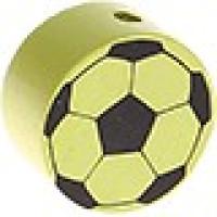 Figurita de madera PREMIUM- Balon de futbol 20 mm- Limon 26