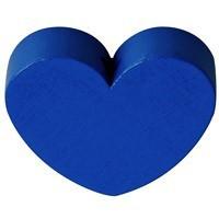 Figurita PREMIUM- Corazon redondito 18x18 mm - Azul marino 21
