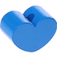 Figurita PREMIUM- Corazon redondito MINI 15x11 mm -Azul medio 20