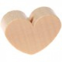 Figurita de madera PREMIUM- Corazon 30x25 mm - Natural 09