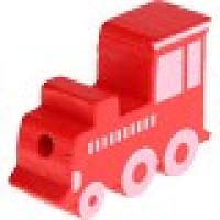 Figurita madera PREMIUM- Trenecito 30x15 mm- Rojo