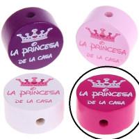 Figurita PREMIUM moneda La princesa de la casa - Fucsia 05
