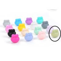 Ranita de silicona 20x20 mm- Color verde musgo 54