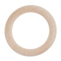 Aros de madera de haya sin lacar- Tamaño 56 mm, int 35 mm