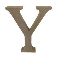 Letra en DM- Altura aprox 12 cm- Grosor 2 cm- Letra Y