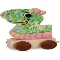 Articulo bebe - Tren de Letras - Cabeza de Dragona 6.5x3x7 cm